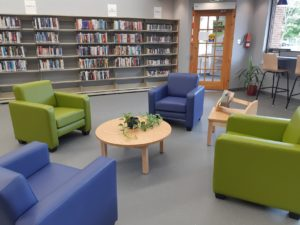 Glace Bay Library interior