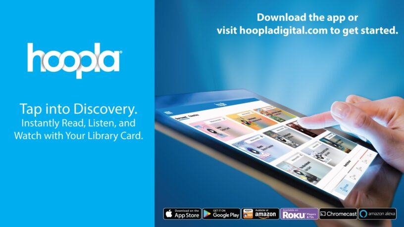 Hoopla digital library image