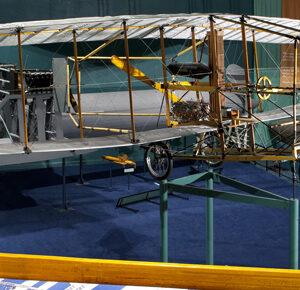 plane Inside the alexander graham bell national historic site